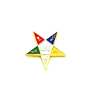 Order of the Eastern Star Masonic Tie Tac - HOM7267T