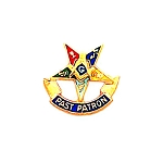 Order of the Eastern Star Masonic Tie Tac - HOM7283T