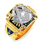 Blue Lodge Masonic Ring - GLC352BL