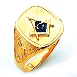 Blue Lodge Masonic Ring - HOM250BL