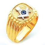 Blue Lodge Masonic Ring - HOM328BL