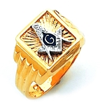 Blue Lodge Masonic Ring - HOM586BL