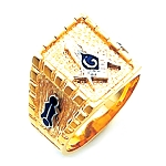 Blue Lodge Masonic Ring - HOM596BL