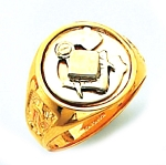 Blue Lodge Masonic Ring - HOM602BL