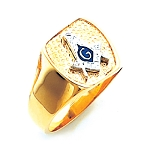 Blue Lodge Masonic Ring - HOM607BL