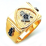 Blue Lodge Masonic Ring - HOM620BL