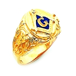 Blue Lodge Masonic Ring - HOM719BL