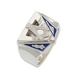 Blue Lodge Masonic Ring - MASCJ1004BL