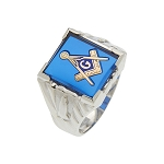 Blue Lodge Masonic Ring - MASCJ1123BL