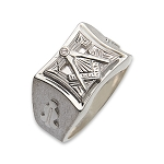 Blue Lodge Masonic Ring - MASCJ797BL
