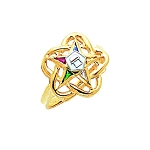 Order of the Eastern Star Masonic Ring - GLC214ES