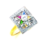 Order of the Eastern Star Masonic Ring - GLC235ES