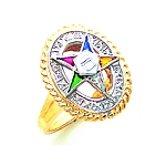 Order of the Eastern Star Masonic Ring - GLC243ES