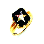 Order of the Eastern Star Masonic Ring - HOM242ES