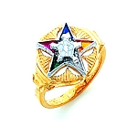 Order of the Eastern Star Masonic Ring - HOM300ES