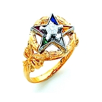 Order of the Eastern Star Masonic Ring - HOM308ES