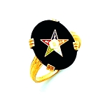 Order of the Eastern Star Masonic Ring - HOM311ES
