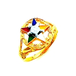 Order of the Eastern Star Masonic Ring - HOM313ES