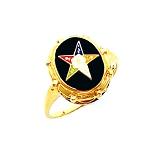 Order of the Eastern Star Masonic Ring - HOM363ES