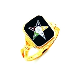 Order of the Eastern Star Masonic Ring - HOM392ES