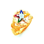 Order of the Eastern Star Masonic Ring - HOM398ES