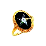 Order of the Eastern Star Masonic Ring - HOM410ES