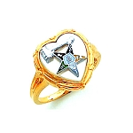 Order of the Eastern Star Masonic Ring - HOM461ESPM