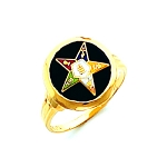Order of the Eastern Star Masonic Ring - HOM488ES