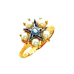 Order of the Eastern Star Masonic Ring - HOM502ES