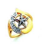 Order of the Eastern Star Masonic Ring - HOM648ES