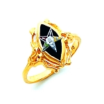 Order of the Eastern Star Masonic Ring - HOM729ES