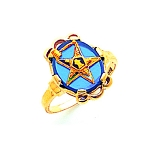 Order of the Eastern Star Masonic Ring - MAS57359PM