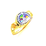 Rainbow Girls Masonic Ring - GLC282