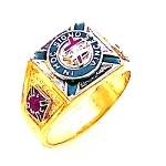 Knights Templar Masonic Ring - GLC686KT