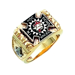 Knights Templar Masonic Ring - HOM278KT
