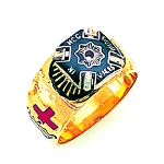 Knights Templar Masonic Ring - MAS1108KT