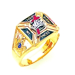 Knights Templar Masonic Ring - MAS859KT