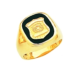 Police First Responder Ring - CRM10254