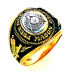 Past Master Masonic Ring - GLC1181PM