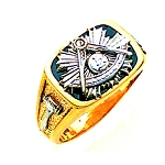 Past Master Masonic Ring - GLC631PM