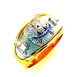 Past Master Masonic Ring - GLC648PM