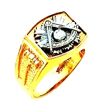 Past Master Masonic Ring - HOM633PM