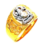 Past Master Masonic Ring - MAS2588PM