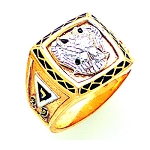 Scottish Rite Masonic Ring - GLC721SR