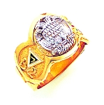 Scottish Rite Masonic Ring - GLC792003SR