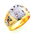 Scottish Rite Masonic Ring - GLC860SR