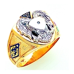 Scottish Rite Masonic Ring - GLC874SR