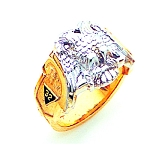 Scottish Rite Masonic Ring - GLC878SR
