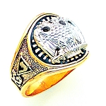 Scottish Rite Masonic Ring - MAS1185SR
