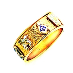 Custom Masonic Ring - MAS1406
